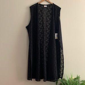 Lularoe Joy, Noir Collection, Lace Size 3XL, NWT